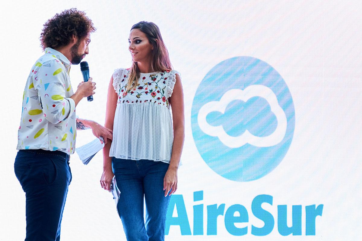 Irene Rosales y Jose Antonio Leon en AireSur Sevilla
