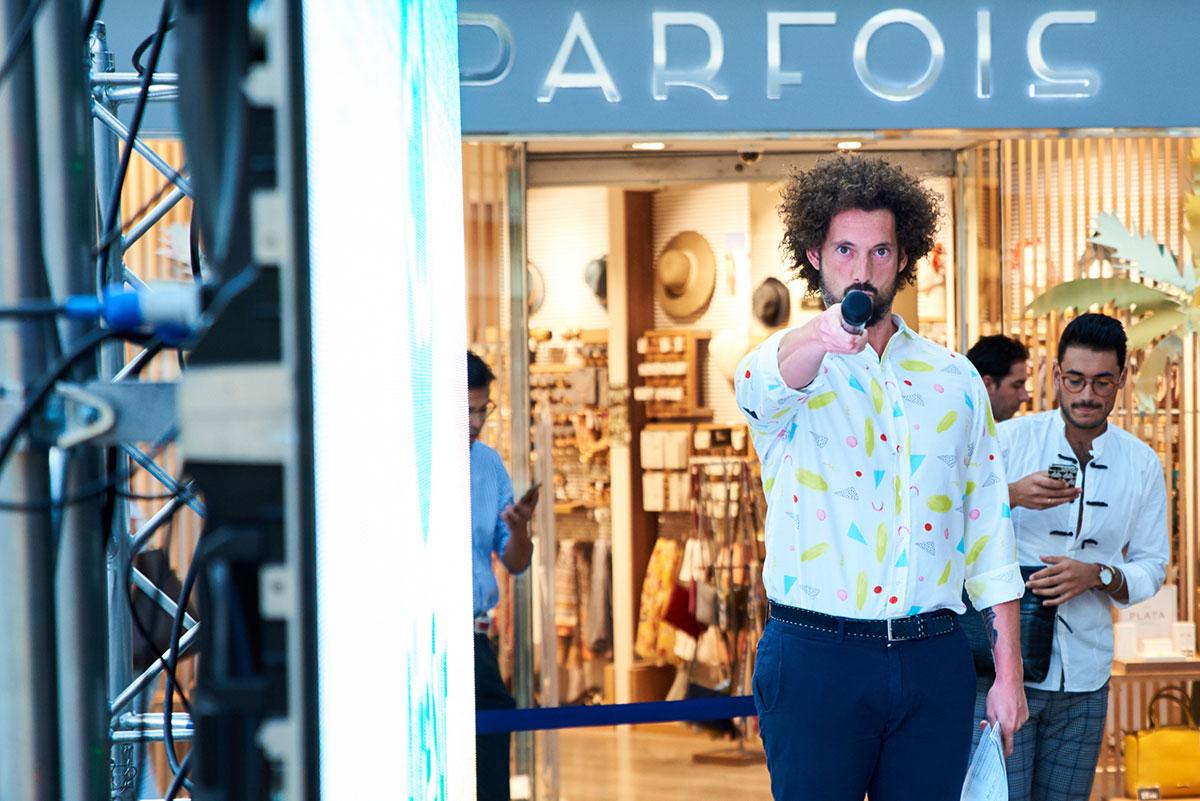 Jose Antonio Leon en el Casting Personal Shopper en Sevilla
